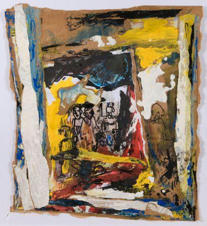 TAMSIR DIA, né en 1950 - Côte d'Ivoire  Beaux-enfants,...