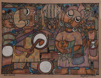 TWIN SEVEN SEVEN (1944-2011) - Nigéria  Twin...