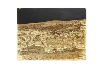 """FELIX BONFILS HÉBRON 1867-1875  Négatif au collodion sur plaque de verre, signé """"Bonfils"""",..."""