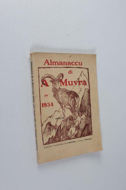 Almanaccu di A Muvra per 1934