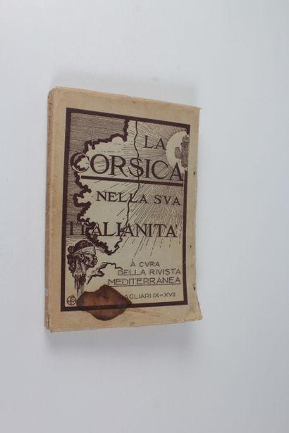 La Corsica nella sua italianità. A cura della rivista Mediterranea