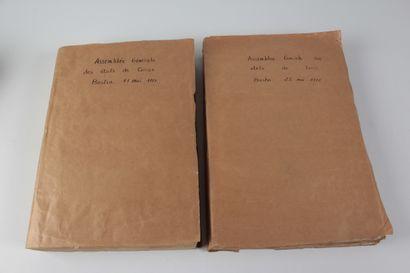 Procès-verbaux de l'Assemblée des États de Corse 1770-1781