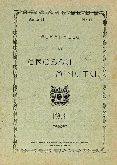 Almanaccu di Grossu Minuto