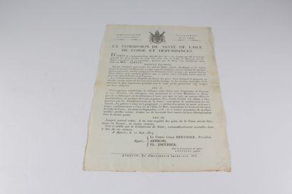 Berthier, Comte César, Président, Arrighi, FL. Escudier