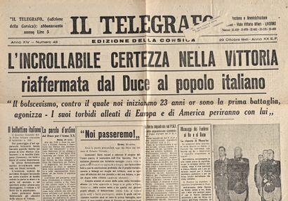 Il Telegrafo. Edizione della Corsica