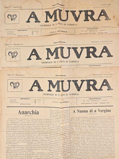 [Lot Journaux] - A Muvra