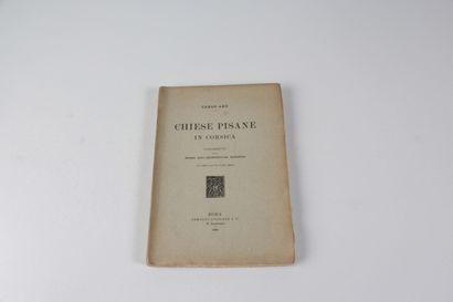 Aru, Carlo Chiese pisane in Corsica: contributo alla storia dell'architettura romanica......