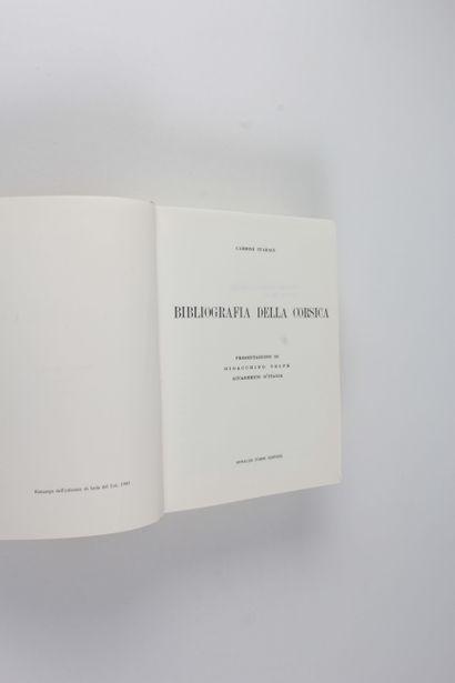 Starace, Carmine Bibliografia della Corsica / presentazione di Gioacchino Volpe....