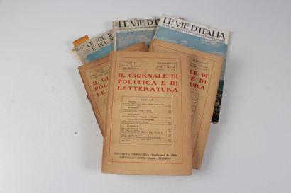Vie d'Italia e del mondo (le). Rivista mensile del touring club italiano