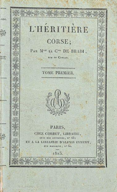 Bradi (comtesse de, née de Caylan).