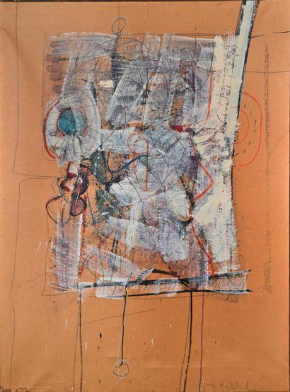 Giorgio BELLANDI (1930-1976)  Sans titre...