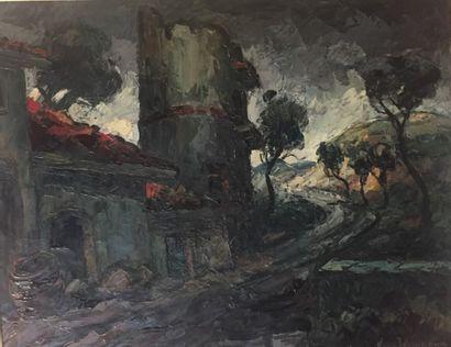 Maurice VAGH WEINMAN (1899 - 1986)  Paysage...
