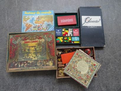 Important lot of board games :  - The young...
