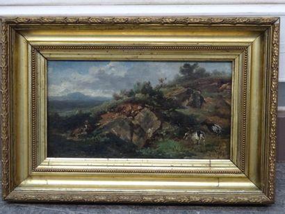 Emile NOIROT NOIROT (1853 - 1924)  Le berger...