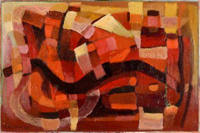 Lou THEISEN (1914-2008)  Sans titre, 1967...