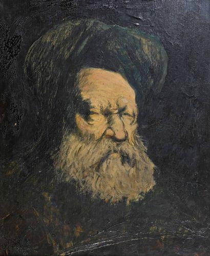 Eugène BROUILLARD (1870 - 1950)  Portrait...