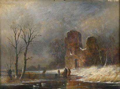 Ecole FRANCAISE du XIXème siècle  Paysages...
