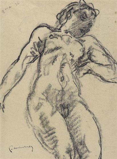 Pierre COMBET-DESCOMBES (1885-1966)  Nude...