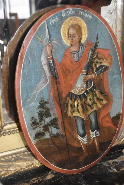 RUSSIE - Début XIXè siècle  Saint Georges...