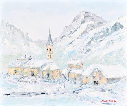 Bernard VINCENT (XX-XXI)  Val d'Isère, le...