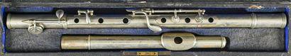 Flûte traversière en métal à cinq clés, faite...