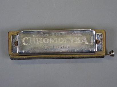 Harmonica Hohner Chromonika I en Do, Allemagne...