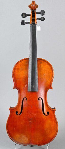 Violon alto allemand portant étiquette de...