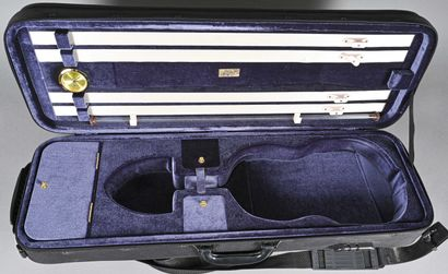 Bel étui de violon de marque Lang, modèle...