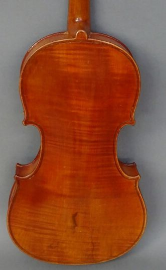 Anonymous 3/4 violin made in Mirecourt at the beginning of the 20th century. One...
