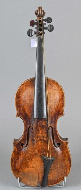 Violon allemand XVIIIe siècle portant étiquette...