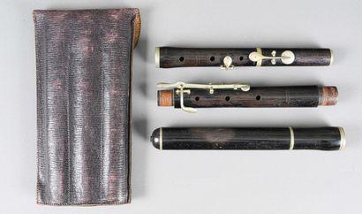 Flûte traversière portant la marque de Boyard...