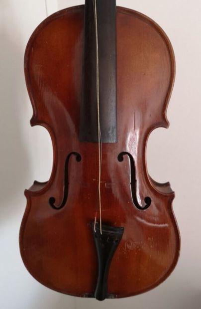 Beau violon allemand fait main de Fritz Krauss...
