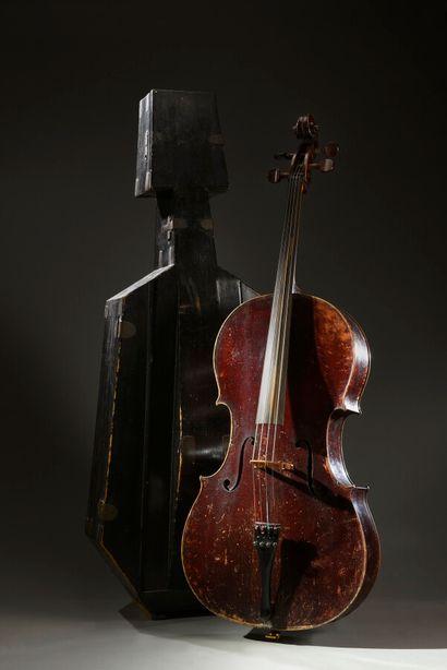 Violoncelle fait par Pierre Silvestre à Lyon...