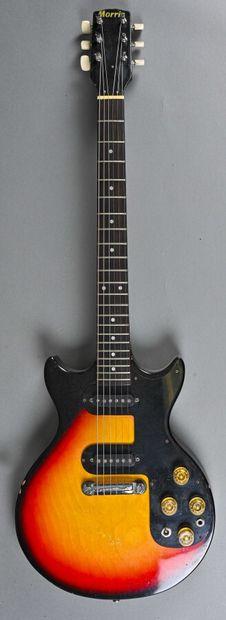 Guitare électrique Morris, Japon années 1970...