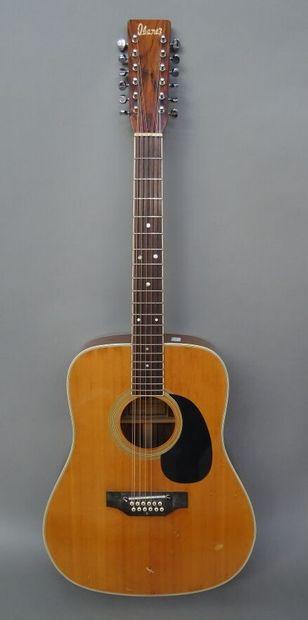 Guitare Folk 12 cordes Ibanez modèle 750.12...