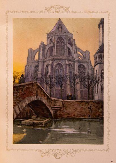 VERHAEREN (Émile). Les villes à pignons....
