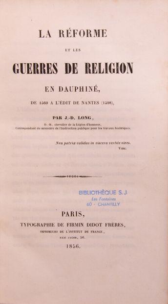 Alpes Savoie Dauphiné - LONG (J.D.). La réforme...