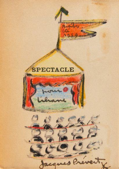 PREVERT (Jacques). Spectacle.  Paris, NRF,...