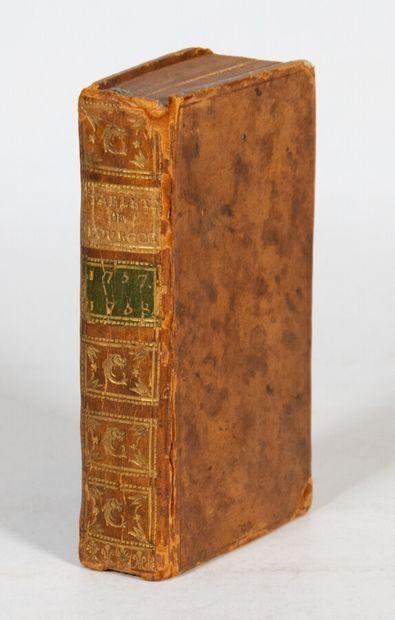 Burgundy - TABLETTES HISTORIQUES, topographiques et physiques de Bourgogne, pour...