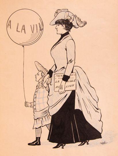 Lyonnais - VINGTRINIER (Emmanuel). La vie...