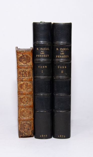 PASCAL (Blaise). Thoughts of M. Pascal on religion and on some other subjects, which...