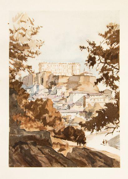 Provence - Midi - HENRIOT (E). Grignan. Sépias...