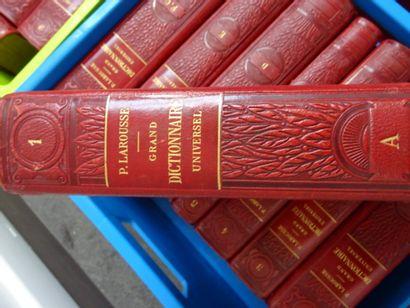 LAROUSSE (Pierre). Grand dictionnaire universel du XIX° siècle.  Paris, Administration...