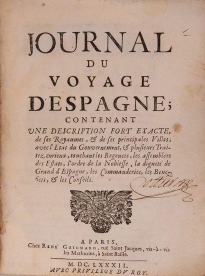[BERTAUT (François)]. Journal du voyage d'Espagne,...