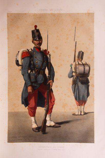 ARMAND-DUMARESQ (Charles-Édouard). Uniformes...