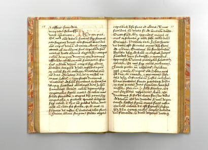 MISSEL DES CHARTREUX CARTHUSIAN MISSAL. Latin manuscript from the first half of the...