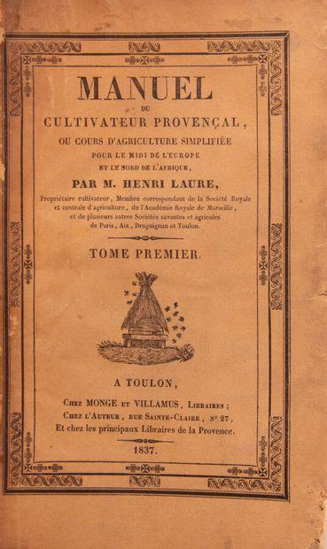 Provence - Midi - LAURE (Henri). Manuel du...
