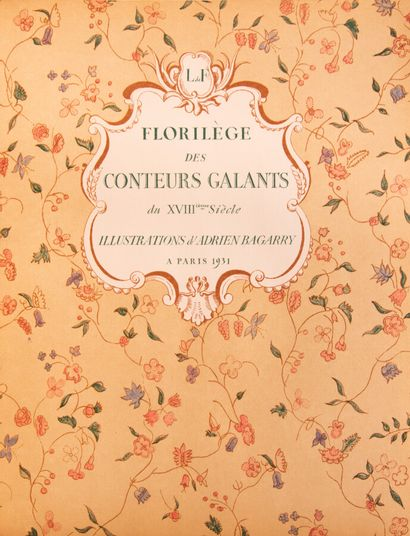 PILON (Edmond). Scènes galantes et libertines...