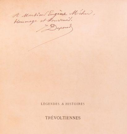 Ain - DUPOND (J). Légendes et histoires trévoltiennes....