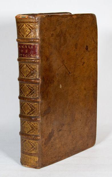 Burgundy - PARADIN DE CUYSEAULX (Guillaume). Annales de Bourgongne. With a table...